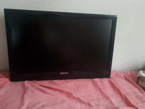 Tv/monitor Philips Lcd 23.6 Polegadas + Conversor Digital