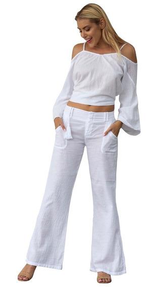 Pantalón 100% Algodón Para Dama (paris)