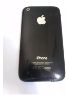 Tampa Traseira Apple I Phone 3 Preta