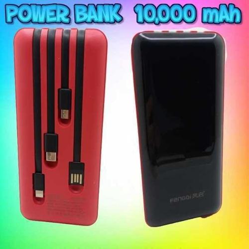 Power Bank De 10.000 Mah 4 Conexiones