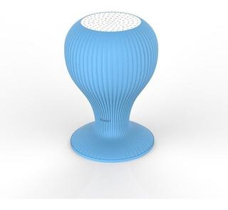 Parlante Bluetooth Zom M05 Azul Impermeable Celular Silicona