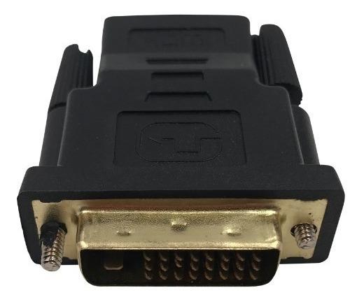 Kit 10 Adaptador Conversor De Hdmi Femea Para Dvi-d Dual -1