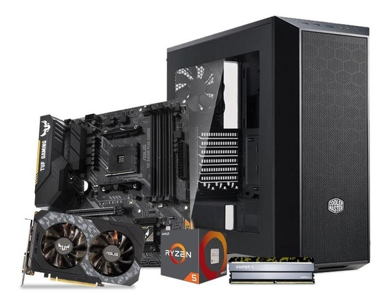 Computadora Pc Gamer Gtx 1660 Ti 6gb Ryzen 5 1tb 8gb 80+