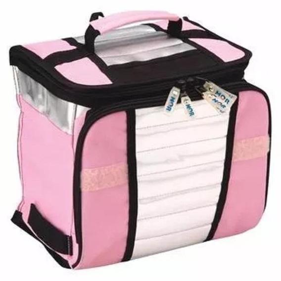 Bolsa Térmica Ice Cooler Rosa Capacidade 7,5l 003629 Mor