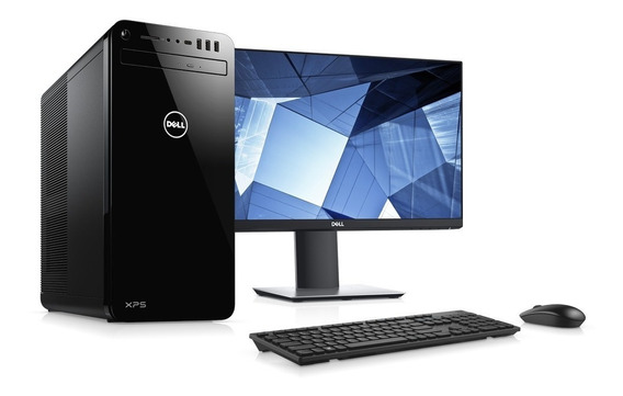Computador Dell Xps-8930-a15m Ci5 8gb 1tb Win10 + Monitor