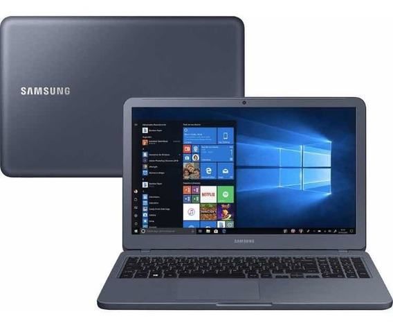 Notebook Samsung Essentials E20 Celeron 4gb 500gb Hd Led W10