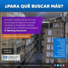 Alquiler De Computadores, Impresoras, Portátiles Linalca