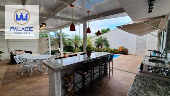 Casa Com 6 Dormitórios À Venda, 480 M² Por R$ 1.900.000,00 - Loteamento Chácaras Nazareth Ii - Piracicaba/sp - Ca0267