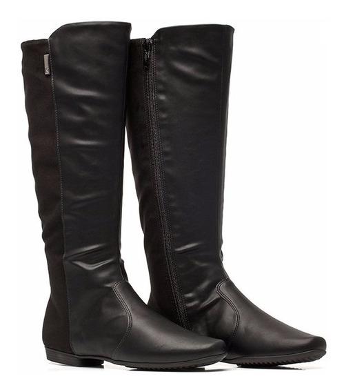 Bota Botineta Zapato Caña Larga Mujer Taco 2cm Piccadilly !!