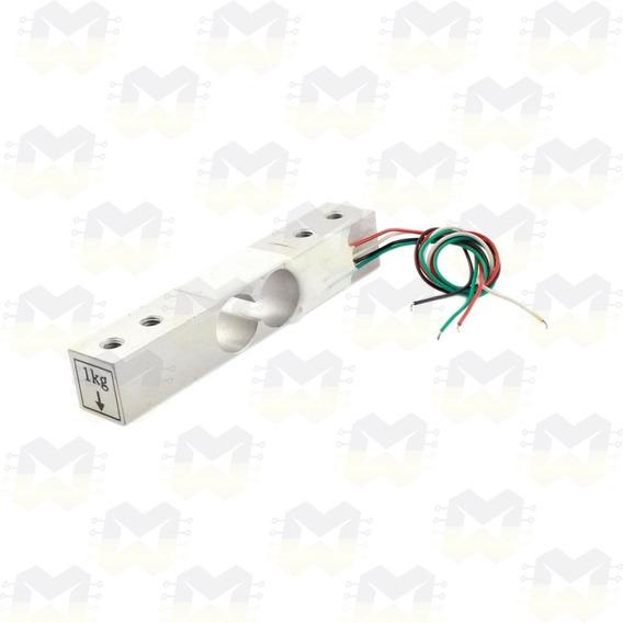 Célula De Carga Sensor De Peso 1kg Balança Hx711 Arduino