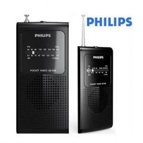 Radio Philips Portátil A Pilha Am/fm Ae-1500