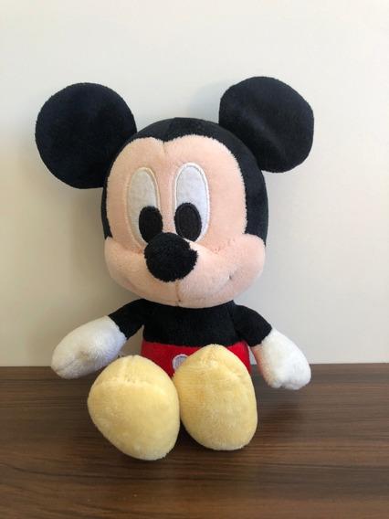 Mickey De Pelucia 20 Cm Mini Big Head