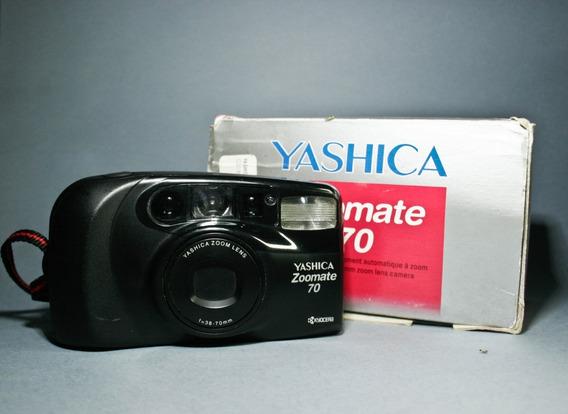 Câmera Yashica Zoomate 70 Na Caixa
