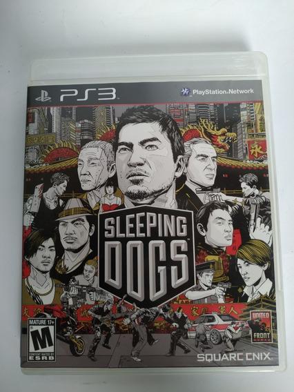 Sleeping Dogs Ps3 Original Mídia Física