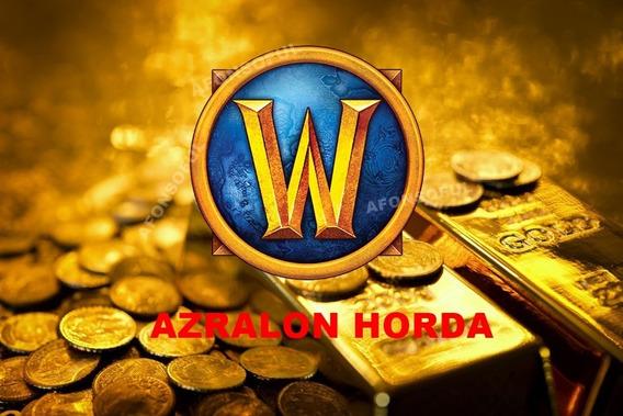 400k Ouro, Gold Wow - Azralon Horda - Entrega Instantânea!