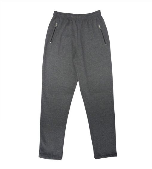 Pantalon Friza C/cierres 3 Bolsillos Talle 1 Al 4