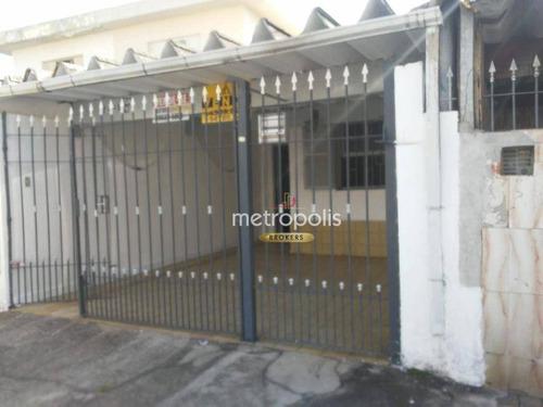 Imagem 1 de 8 de Casa Com 2 Dormitórios À Venda, 150 M² Por R$ 373.000,00 - Vila Scarpelli - Santo André/sp - Ca0951