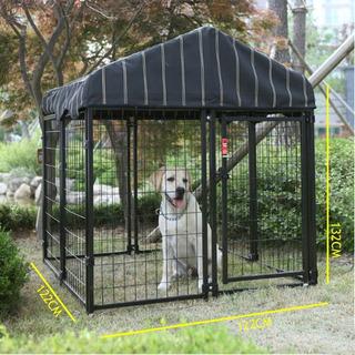 Jaula Corral Para Perro Cachorros Mascotas 1mts Plegable