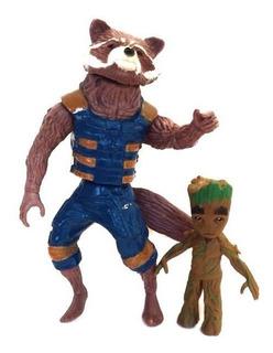 Rocket Groot Muñecos Articulados Los Vengadores Star Lord