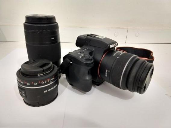 Câmera Profissional Sony Alpha 37
