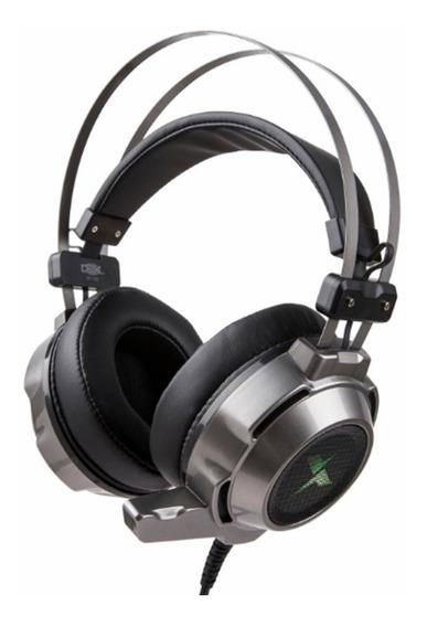 Headset Usb Led Rgb 7.1 / Com Earmuffs Macia E Microfone