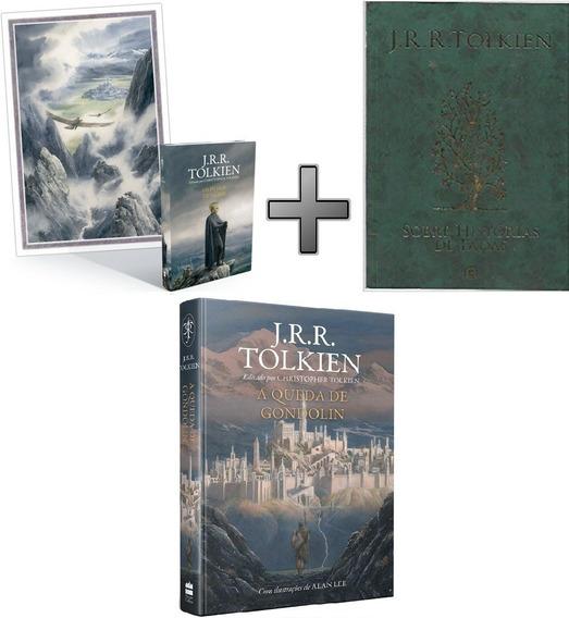Coleção Tolkien 3 Livros Filhos Hurin; Hist Fadas; Gondolin