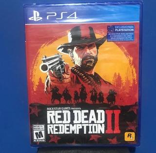 Red Dead Redemption 2 Ps4 Fisico Nuevo Español !!