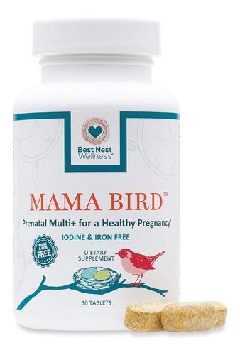 Best Nest Mama Bird Prenatal Multivitamina Embarazo Sano