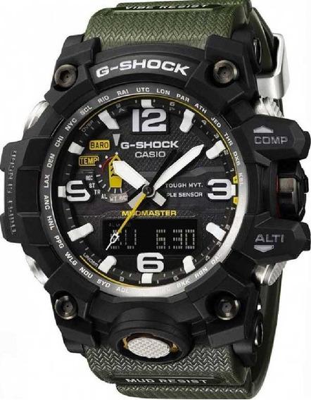 Relógio Casio G-shock Mudmaster Gwg-1000-1a3dr *tough Solar