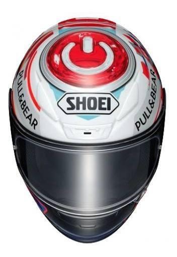 Capacete Shoei Nxr Marc Marques Power Up Esportivo/pista Gp