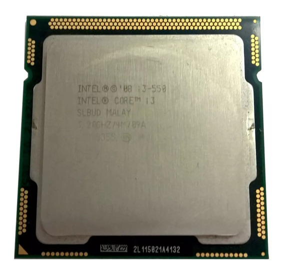 Processador Intel Core I3 550 3,2 Ghz 4mb Cache Lga 1156