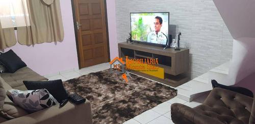 Imagem 1 de 17 de Sobrado À Venda, 192 M² Por R$ 477.000,00 - Vila Carmela I - Guarulhos/sp - So0779