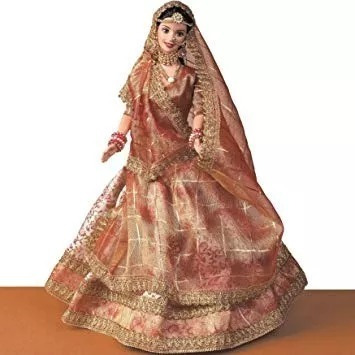 Boneca Barbie Expressions Of Índia Wedding Fantasy - Nrfb