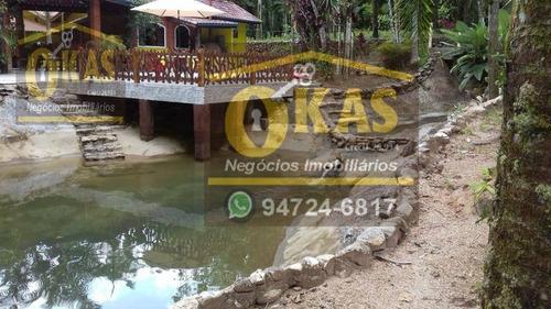 Imagem 1 de 30 de Chácara À Venda, 8500 M² Por R$ 950.000,00 - Parque Caiubura - Bertioga/sp - Ch0042