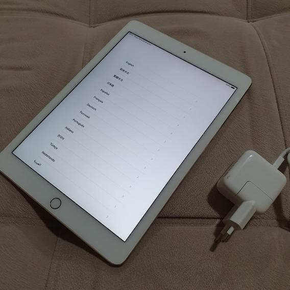 Apple iPad Air 2 64gb Gold A1566 Tela Retina 9.7 Touch Id