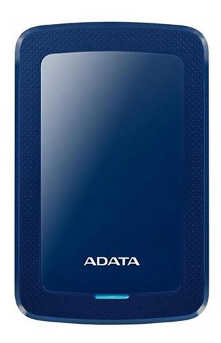 Imagen 1 de 3 de Disco duro externo Adata AHV300-1TU31 1TB azul