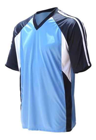 Jogo De Camisa Uniforme Time Futebol Ação - Kit 11 Pcs