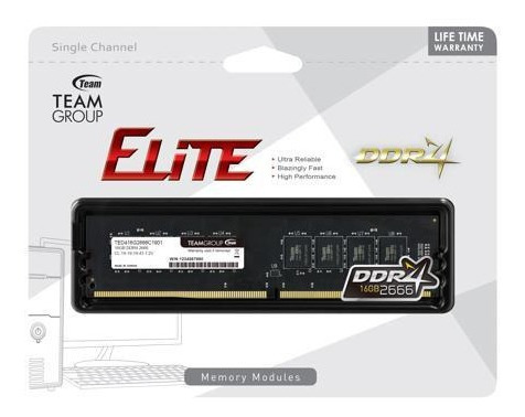 Memoria Ram Team Group Ddr4 16gb 2666mhz Dimm Blister New