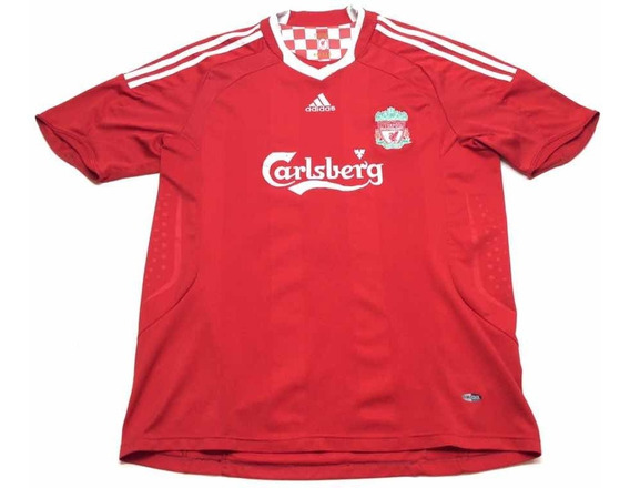 Camiseta adidas Liverpool Torres #9 2008 2009 Talle Xl