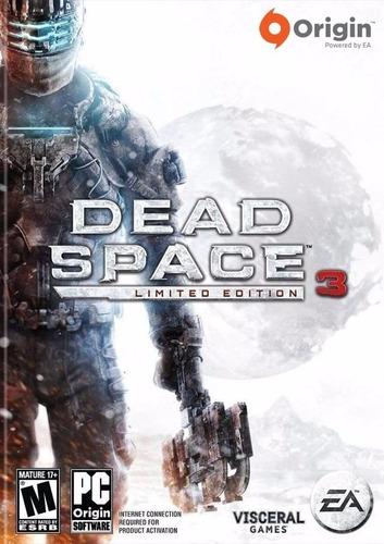 Dead Space 3 Limited Edition Juego Pc Original + Español