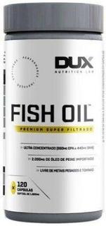 Ômega 3 Ultra Filtrado Fish Oil 120 Cápsulas - Dux Nutrition