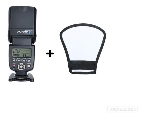 Flash Yongnuo Yn 560 Iv + Rebatedor