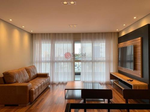 Apartamento Mobiliado Próximo Ao Metrô Tatuapé   - Af23599