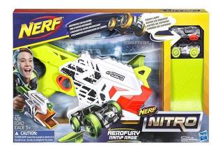 Nerf Nitro Aerofury Ramp Rage + 2 Autos Hasbro Original