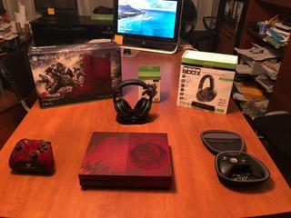 Xbox One S 2tb Gears Of War Special Edition + Extras De Lujo