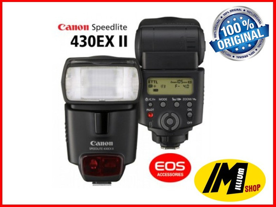 Flash Canon 430ex Ii Original Novo