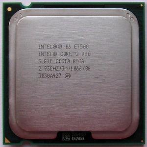 Processador Pentium Core2 Duo E7500 2.93ghz