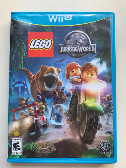 Jogo P/ Videogame Lego Jurassic World Wiiu Nintendo Seminovo
