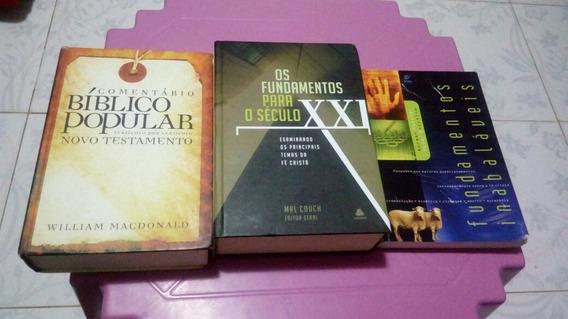 Kit Livros De Teologia