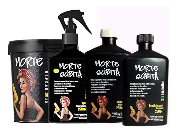 Morte Súbita Lola Kit 4 Produtos + Brinde Hidratante/esfolia